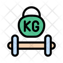 Dumbbell Fitness Gym Icon