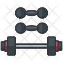 Dumbbell Gym Equipment Icon