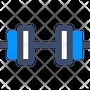 M Dumbbell Dumbbell Fitness Icon