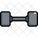Dumbbell Bodybuilding Weightlifting Icon