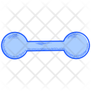 Dumbbell Barbell Fitness Icon