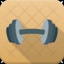 Dumbbells Gym Equipment Icon