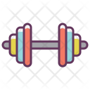 Dumbbell Weight Lifting Icon