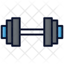 Dumbbell Exercise Gym Icon