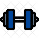 Dumbbell Barbell Exercise Icon