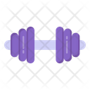 Weightlifting Dumbbell Gym Equipment Icon