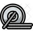 Strength Exercise Barbell Icon