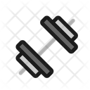 Dumbbell Weight Training Icon