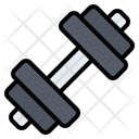 Dumbbell Barbell Gym Icon