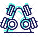 Dumbbell Gym Muscle Icon