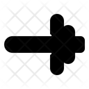 Dumbbell Arrow Icon