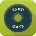 Dumbbell Disc Weight Icon