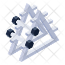 Fitness Equipment Dumbbells Fitness Accessory Icon