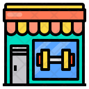 Dumbbell Store Icon