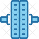 Roller Gym Exercise Icon
