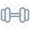 Dumbbells Fitness Gym Icon
