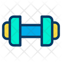 Fitness Gym Equipment Weight Liftng Icon
