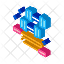 Dumbbells Jump Rope Icon