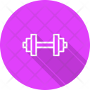 Dumbbells Fitness Exercise Icon