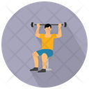 Dumbbells Exercise Icon