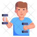 Dumbbells Workout Icon