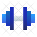 Weight Barbell Lifting Icon