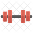 Dumbbell Weightlifting Olympics Icon