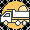 Dump Truck Construction Icon