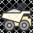 Dump Trucks Wi Fi Icon