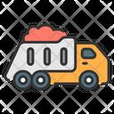 Dump Truck Dumper Construction Vehicle Icon