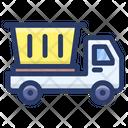 Dump Truck Garbage Truck Waste Truck Icon