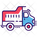Dump Truck Tipper Truck Dumper Icon