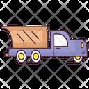 Dump Truck Construction Truck Garbage Truck Icon