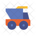 Dump Truck Vehicle Transport Icon