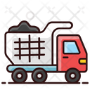 Dump Truck Garbage Transport Waste Transport Icon