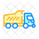 Dumper Truck Color Icon