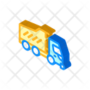 Dumper Truck Isometric Icon