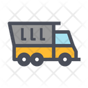 Dump Truck Construction Truck Vehicle Icon