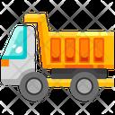 Dump Truck Recycling Truck Trash Truck Icon