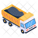 Dumper Dump Truck Tipper Truck Icon