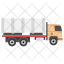 Dump Truck Tipper Truck Gravel Truck Icon