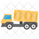 Dump Truck Delivery Truck Crops Delivery Icon