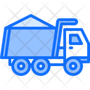 Truck Sand Building Icon