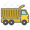 Dumper Truck Vehicle Icon