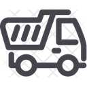 Tipper Truck Cargo Icon