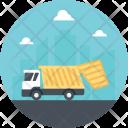 Transportation Garbage Truck Icon