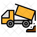 Dumper Construction Truck Icon