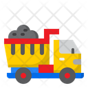 Dumper Truck Transport Vehicle Icon