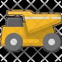 Truck Sand Transport Icon
