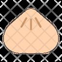 Dumpling Food Steam Icon